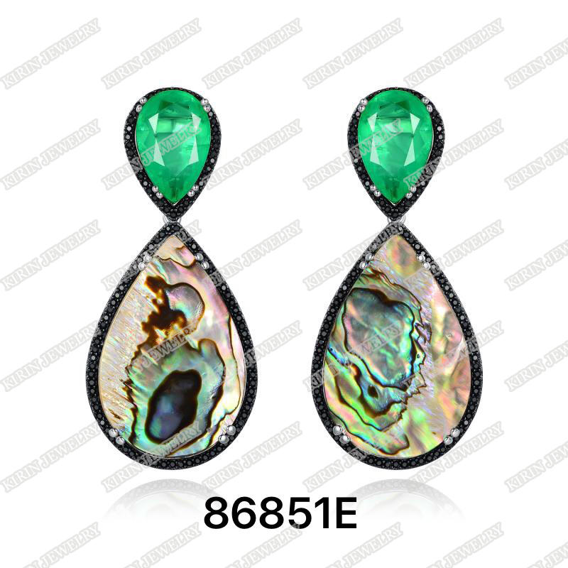 925 sterling silver drop earrings 86851E