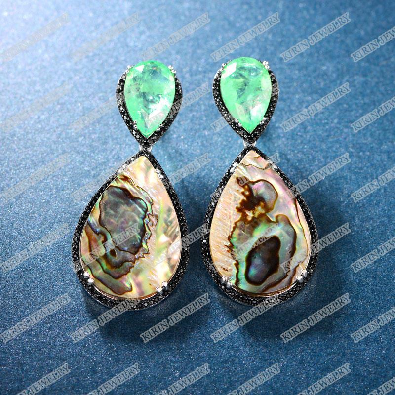 Kirin sterling sterling earrings factory price for girl-1