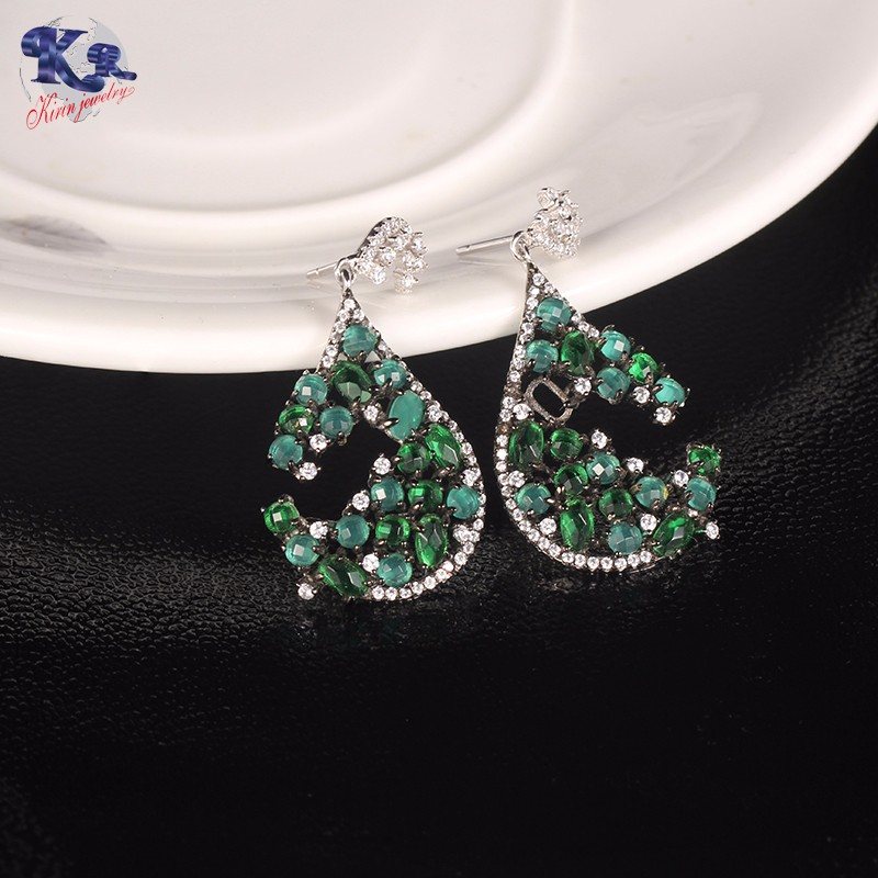 Kirin Jewelry -Find Diamond Necklace And Earring Set Sterling Silver Gift Sets