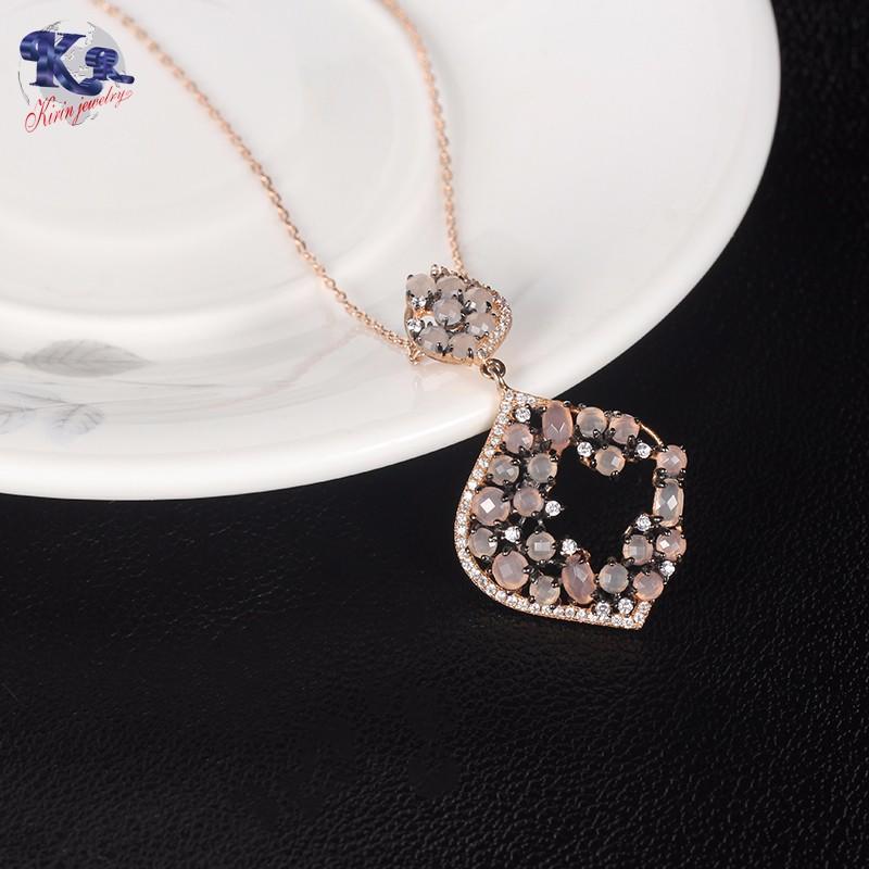 hotsale 925 sterling silver jewelry sets opal stone Kirin Jewelry company