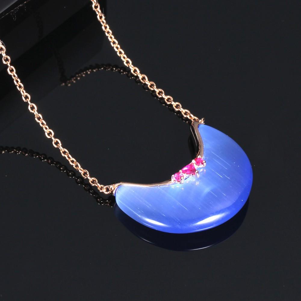 Kirin Jewelry -925 Silver Jewelry Earrings Pendant Necklace For Women 82939-1
