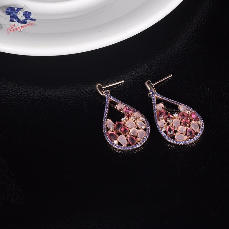 Kirin Jewelry -White Gold Jewelry Set, Kirin 925 Sterling Silver Elegance Jewelry Set
