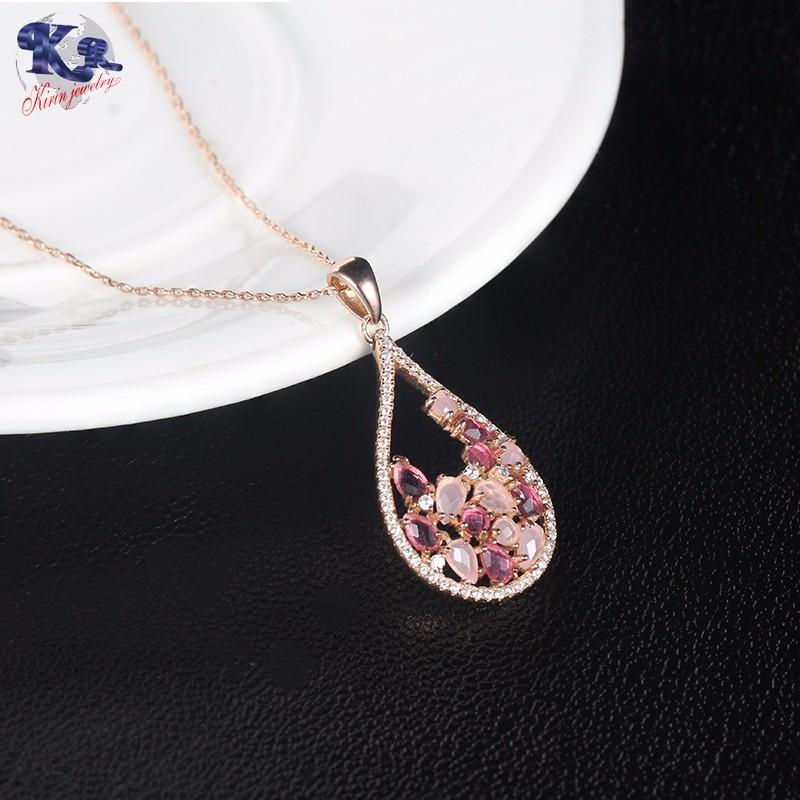 Kirin Jewelry -White Gold Jewelry Set, Kirin 925 Sterling Silver Elegance Jewelry Set-2
