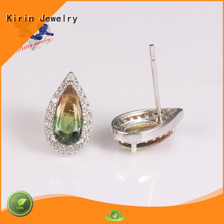 fashion 925 sterling silver earrings endless girls Kirin Jewelry company