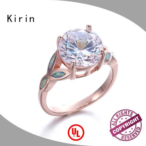 Kirin your silver rings with stones for women from manufacturer for partner