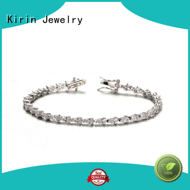 white gold pave setting jewelry plated Kirin Jewelry Brand company