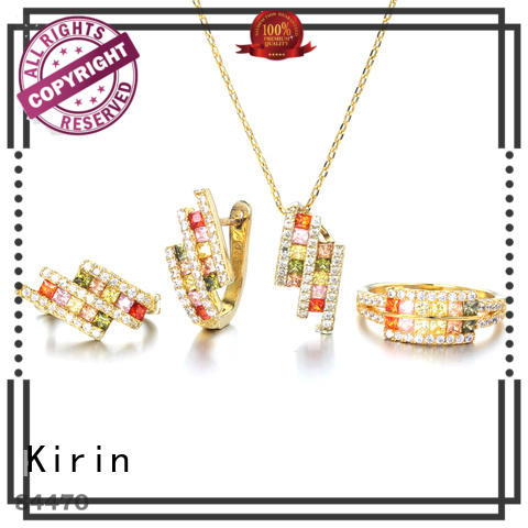 Kirin superb necklace bracelet earring sets free design for girlfriend