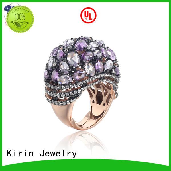 Kirin Jewelry stunning silverware jewelry rings 102353 for mom