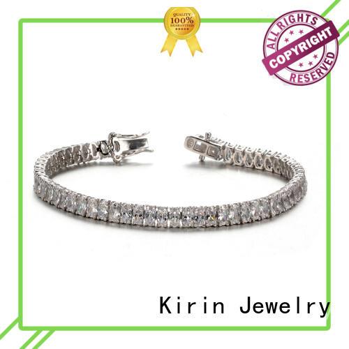 Quality Kirin Jewelry Brand pear 925 sterling silver bracelets