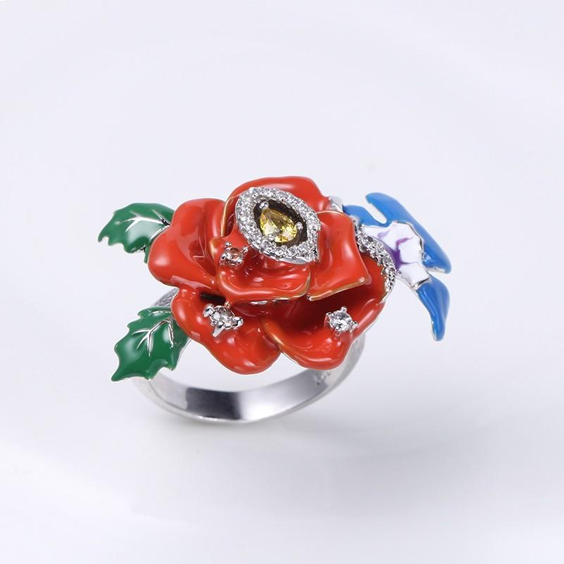 Kirin flower real jewelry sets by Chinese manufaturer for girl-2