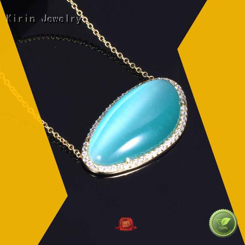 Quality Kirin Jewelry Brand heart 925 sterling silver jewelry sets
