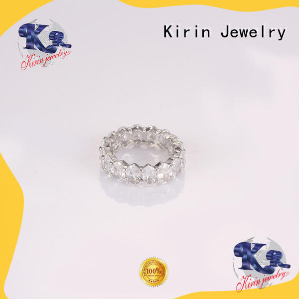 hot-sale silver love ring stones at discount for lover