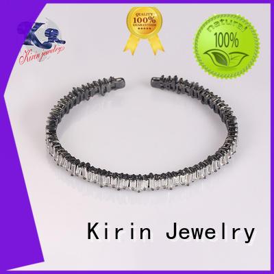 cut 925 sterling silver bracelets princess girl Kirin Jewelry company