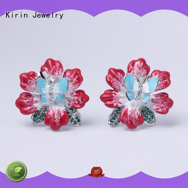 Kirin appealing silver ring set for business for family