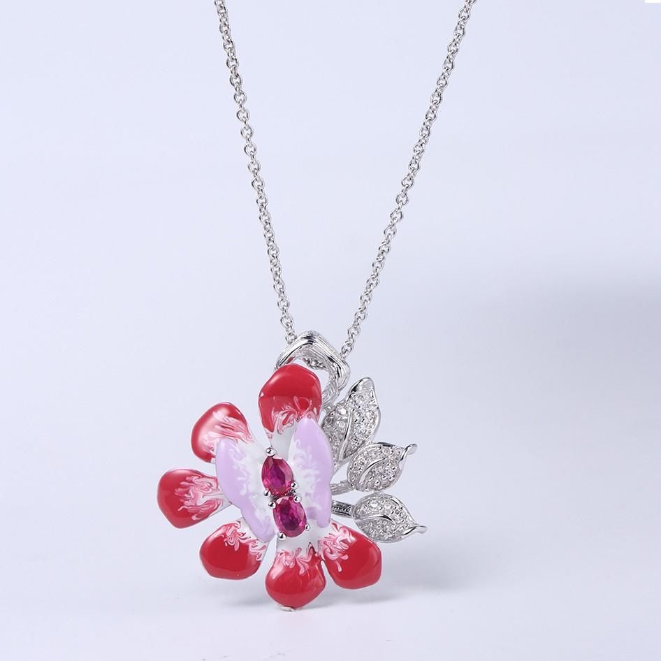 Best sterling silver necklace and bracelet set bangle order now for family-1