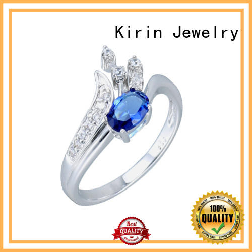 Kirin magnificent silver wedding rings customization for mate