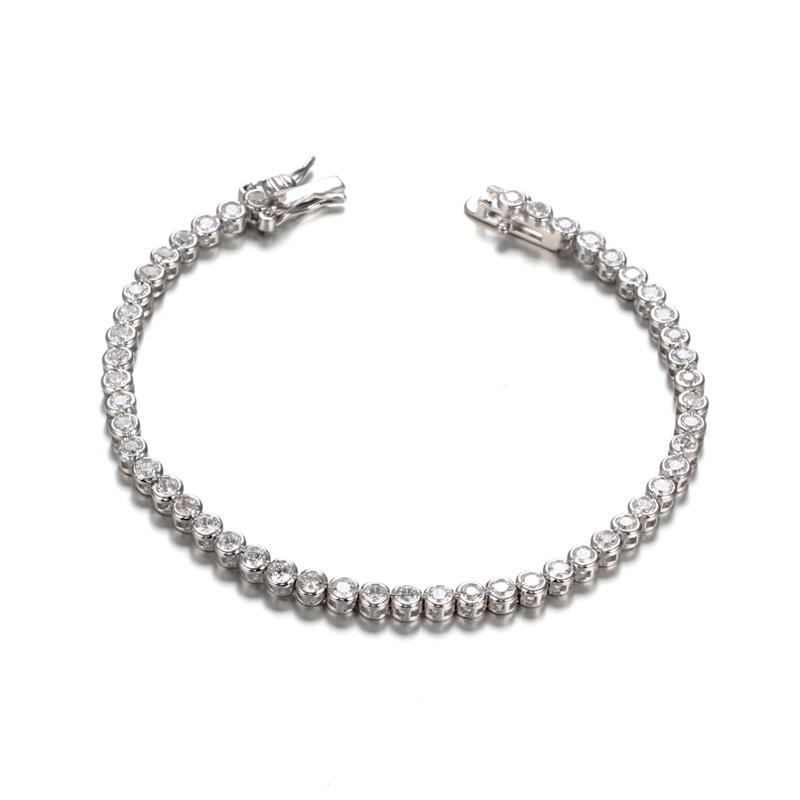 Kirin white 925 sterling silver bangles order now for female-1