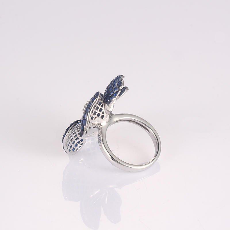 Kirin Jewelry -Manufacturer Of Silver Jewelry Rings Fashion Trend Flower 925 Silver-1