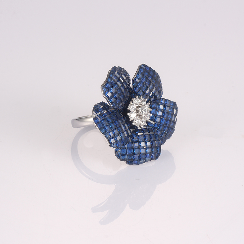 Kirin Jewelry -Manufacturer Of Silver Jewelry Rings Fashion Trend Flower 925 Silver