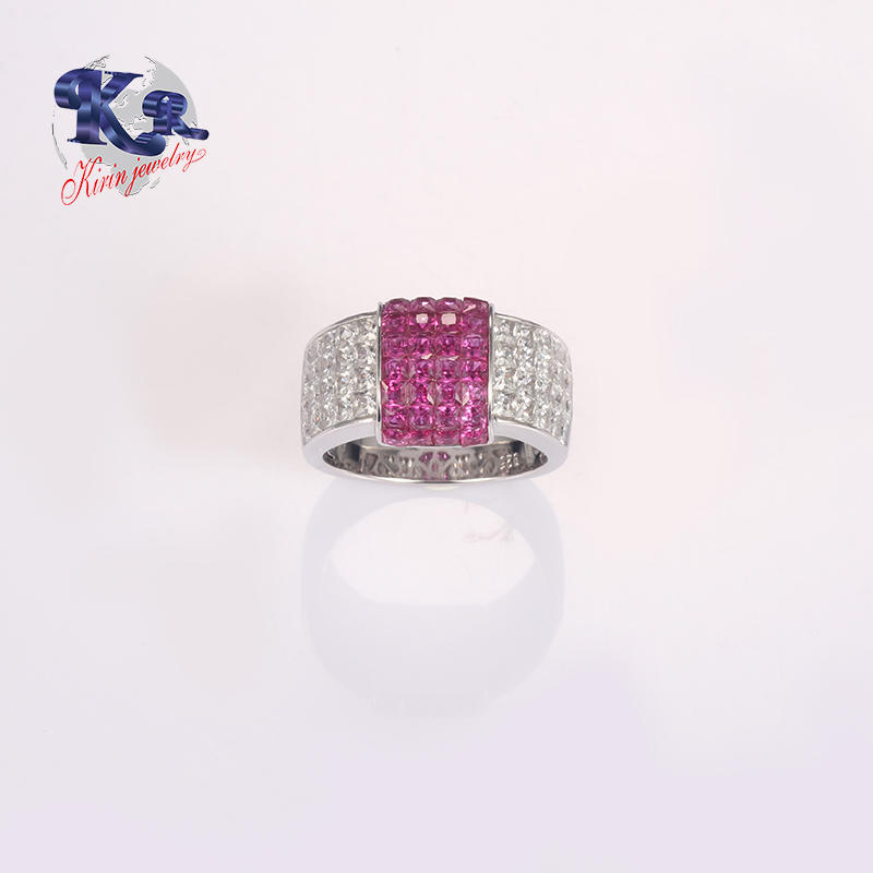 925 Silver Ring With Fancy Stone Silver Plated Romantic Jewelry