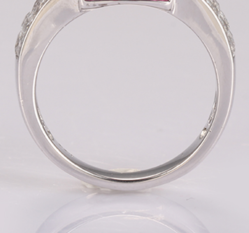 Kirin Jewelry -925 Silver Ring With Fancy Stone Silver Plated Romantic Jewelry | Sterling-8