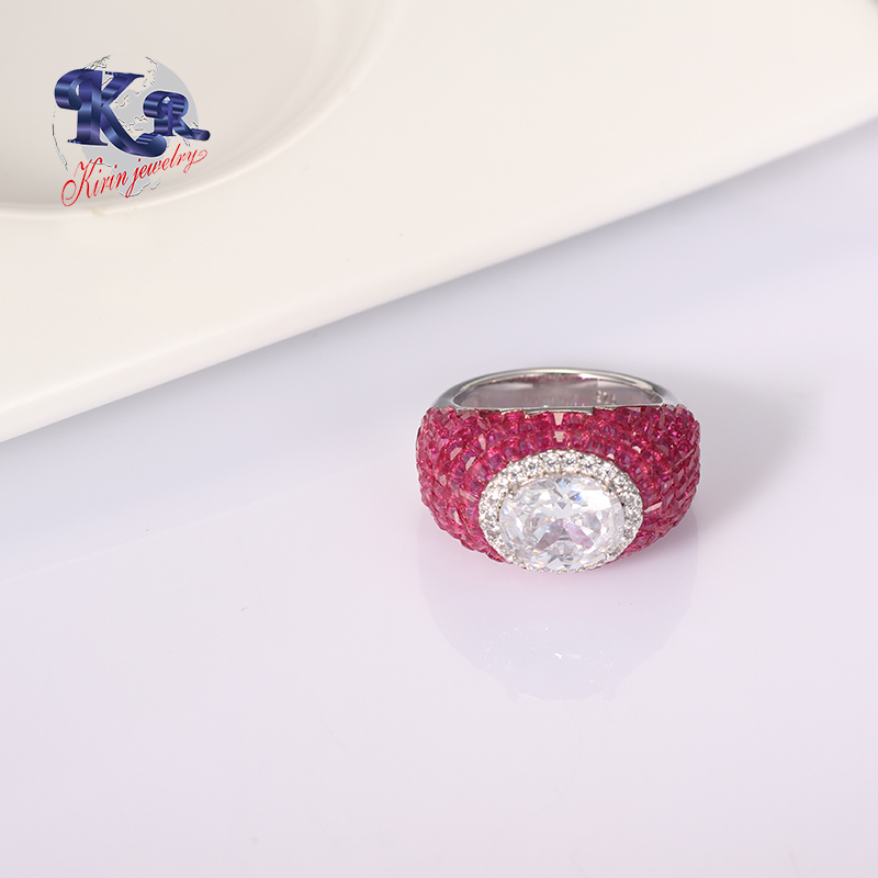 lovely sterling silver rings for sale cz company for girlfriend-Kirin-img-1