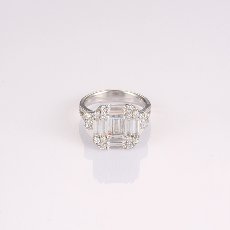 Kirin Jewelry -Best Sterling Silver Purity Rings Custom Engagement S925 Ring