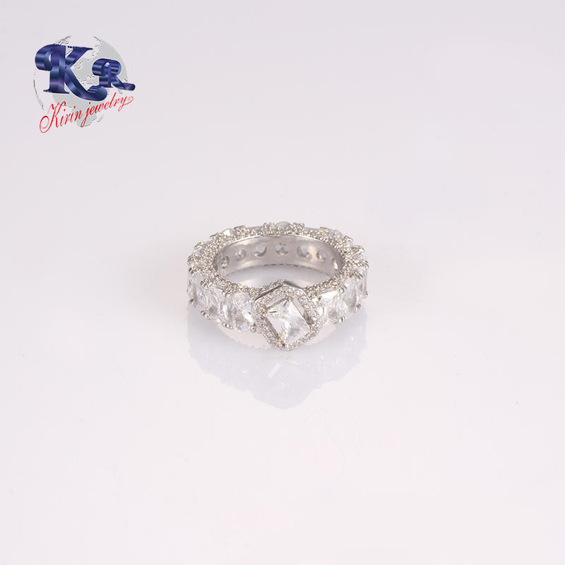 Fast Delivery Zircon Main Stone Beautiful 925 Silver Jewelry Wedding Promise