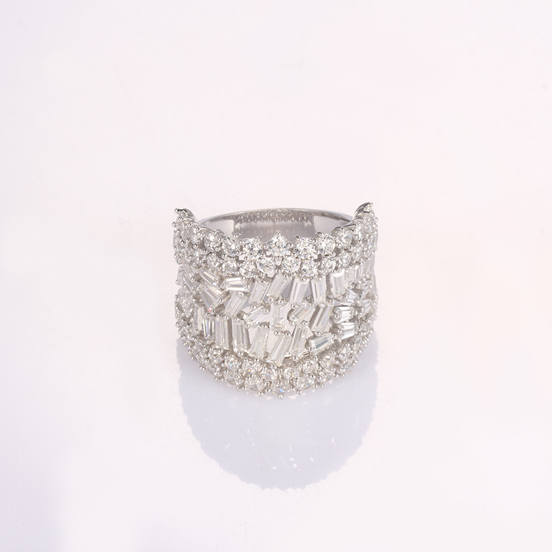 Kirin Jewelry -Best Silver Band Ring Womens Best Selling Cz Ring