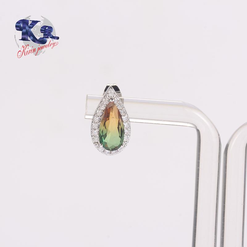 Kirin Jewelry -2018 Earring Stud,Cubic Zircon 925 Sterling Silver Earring Jewelry Type-1