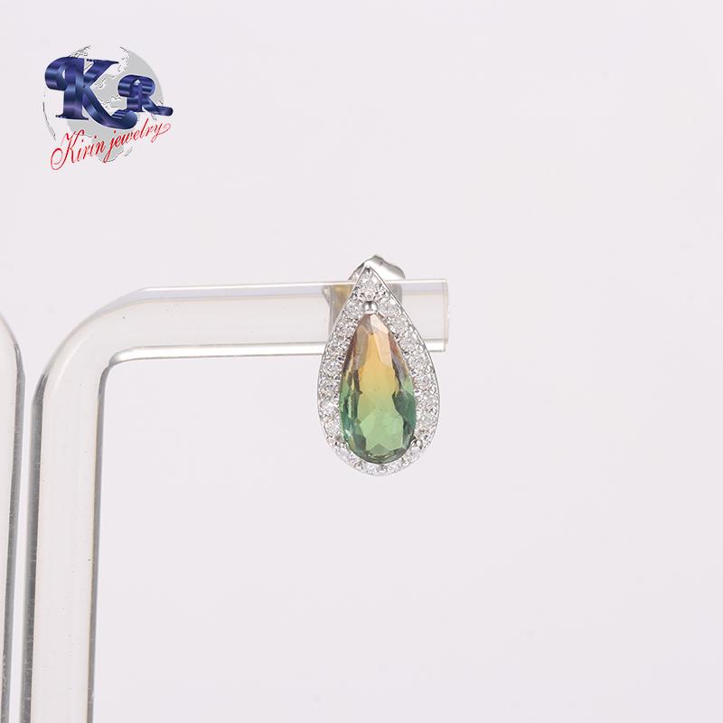 Kirin Jewelry -2018 Earring Stud,Cubic Zircon 925 Sterling Silver Earring Jewelry Type