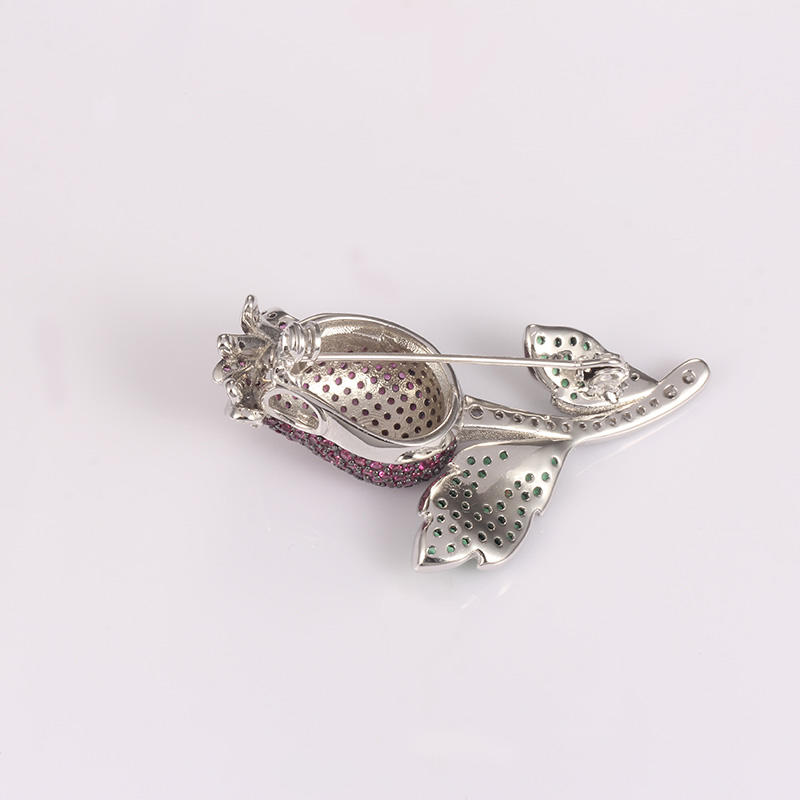 attractive sterling silver safety pin jewelry China factory for partner