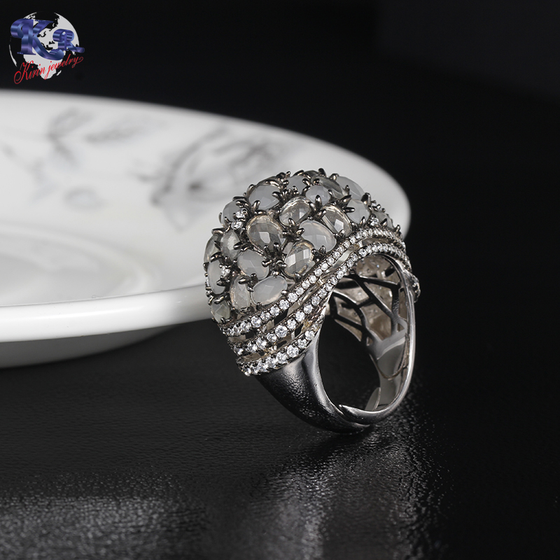news-Kirin Jewelry stunning silverware jewelry rings 102353 for mom-Kirin-img-1