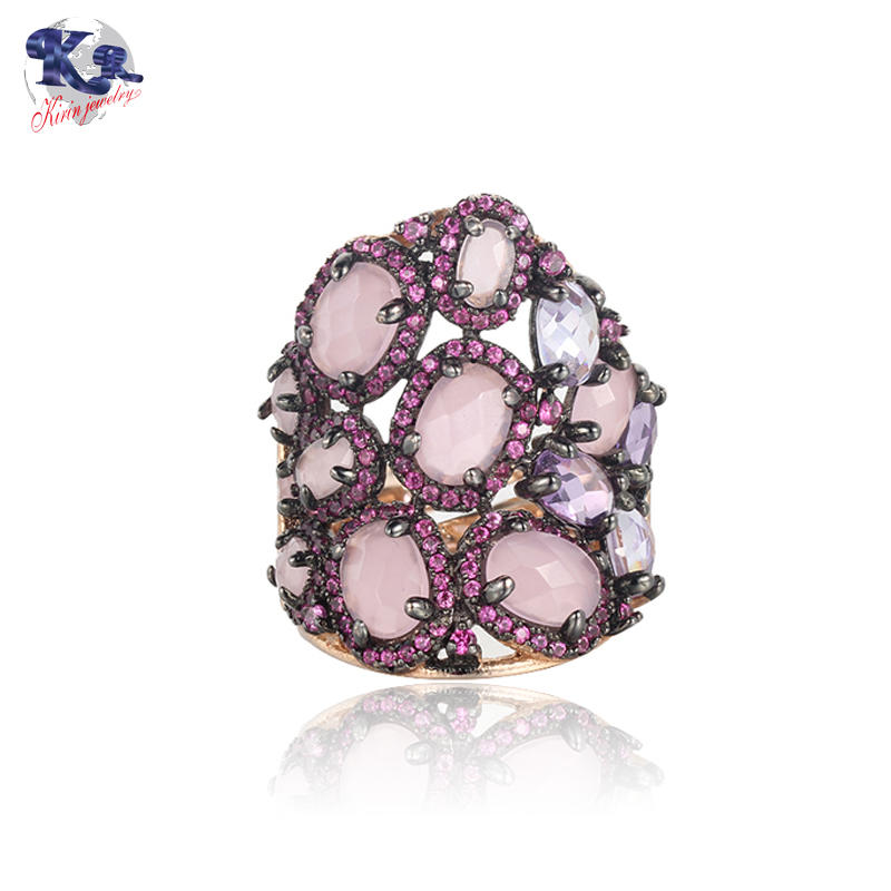 Unique design jewelry Mona Lisa ring for women Kirin Jewelry 19534
