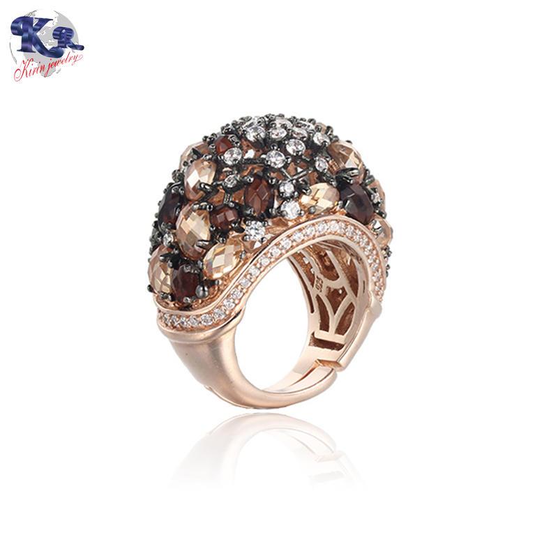 Genuine 925 sterling silver ring for women Kirin Jewelry 19532