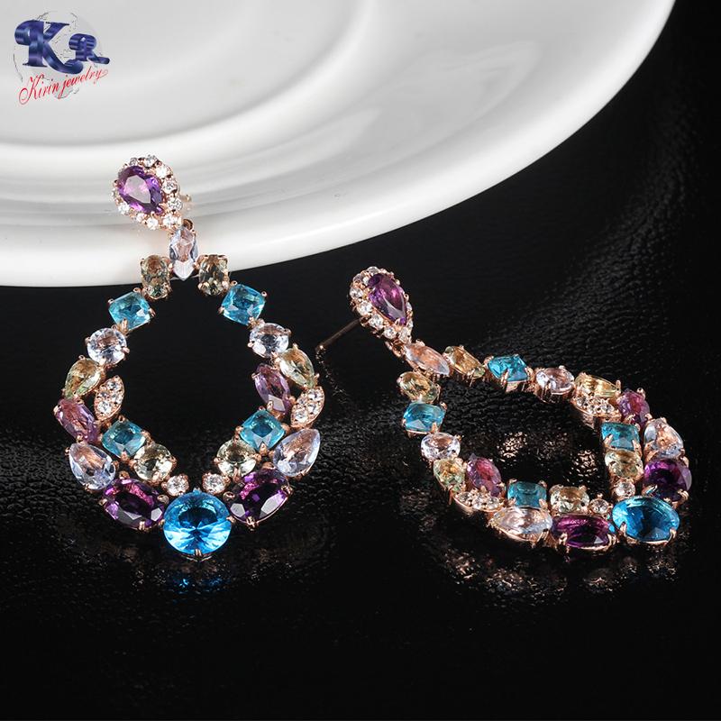 Kirin genuine sterling silver stud earrings set from manufacturer for mate-Kirin-img-1