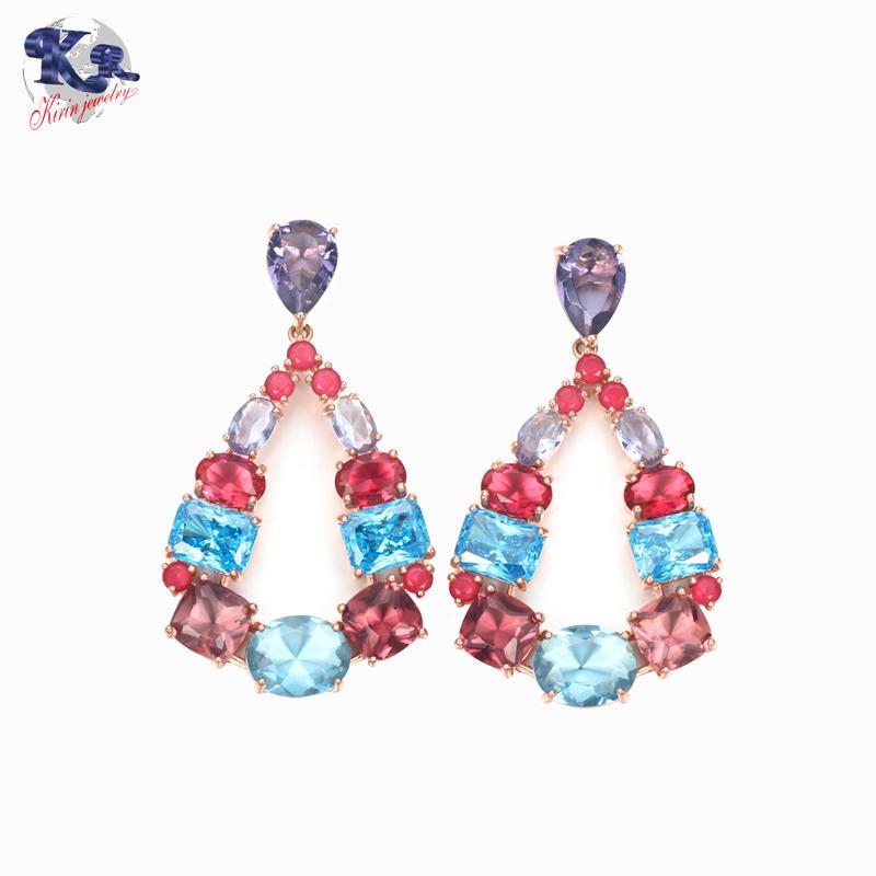 Kirin 925 sterling silver Luxury earrings for women 35829