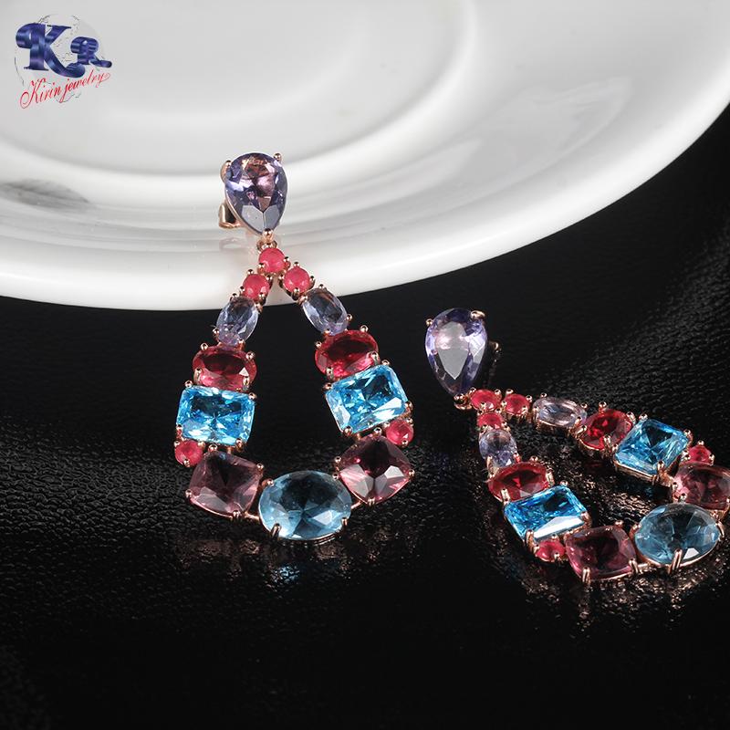 Kirin superb flat stud earrings free design for woman-Kirin-img-1