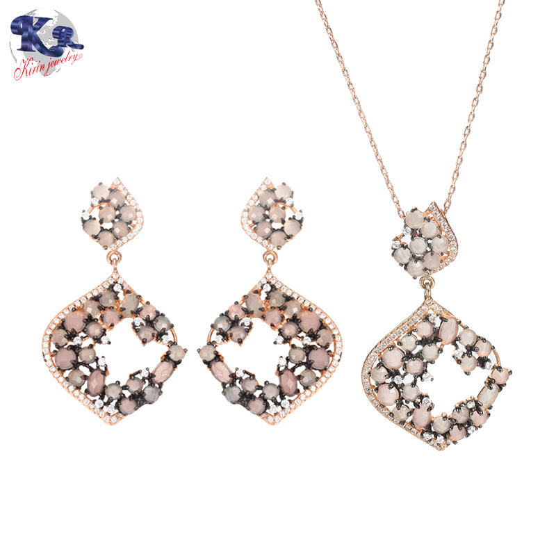 Kirin 925 sterling silver elegance jewelry set for women 81778