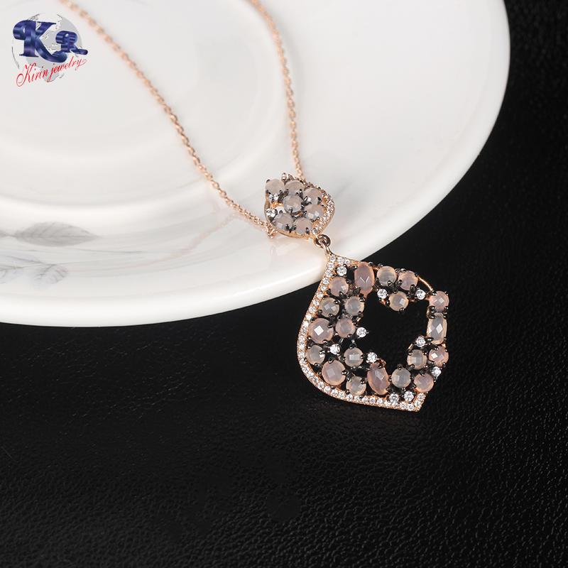 Kirin 925 sterling silver elegance jewelry set for women 81778