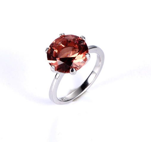 2019 New Silver Color Big Luxury Ring For Woman Kirin Jewelry 12936