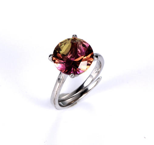 925 big stone fashion jewelry ring for women Kirin Jewelry 18405