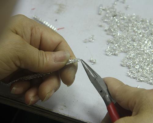 Kirin Jewelry -Zircon Bracelet | Baguette Cubic Zirconia Bangle Bracelet For Women 62008-3