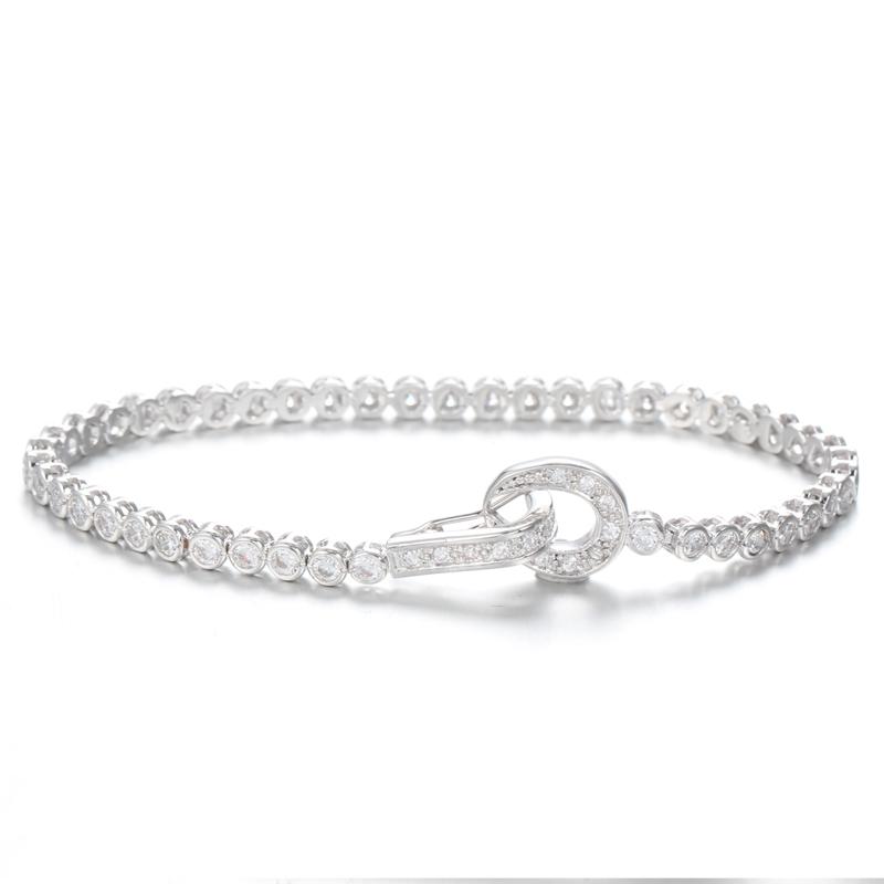 Kirin Jewelry -Manufacturer Of Cubic Zirconia Bracelets 925 Sterling Silver Infinity