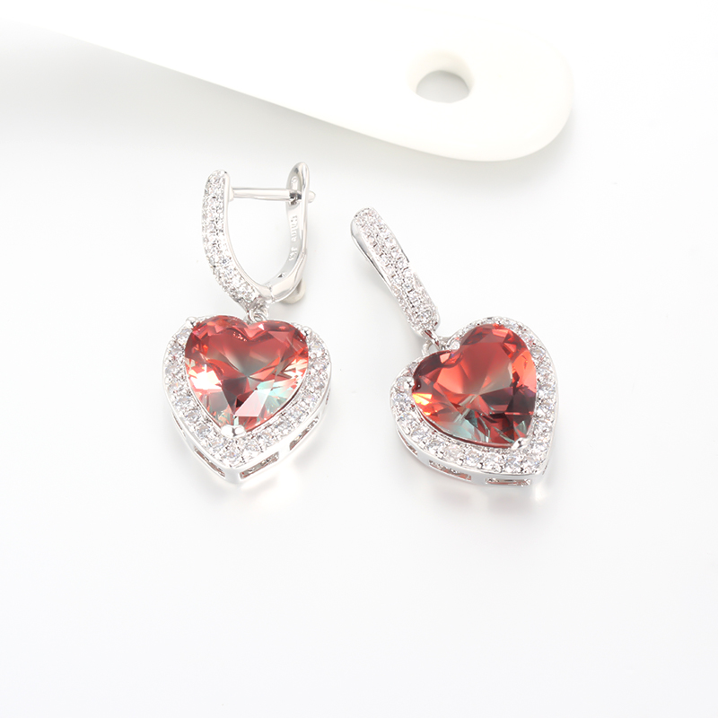 Kirin Jewelry -Luxury Earrings | 1pair Women Fashion 925 Sterling Silver Cubic