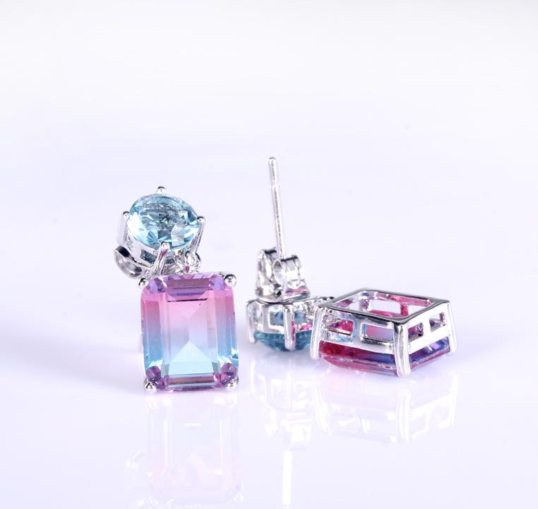 Kirin Jewelry -Find Sterling Silver Stud Earrings Set Classic Silver Earrings