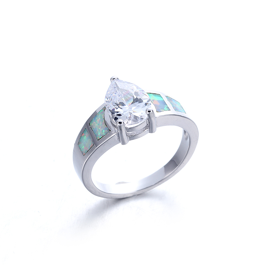 Kirin Jewelry -Beautiful Sterling Silver Rings Manufacture | Women Fashion Opal