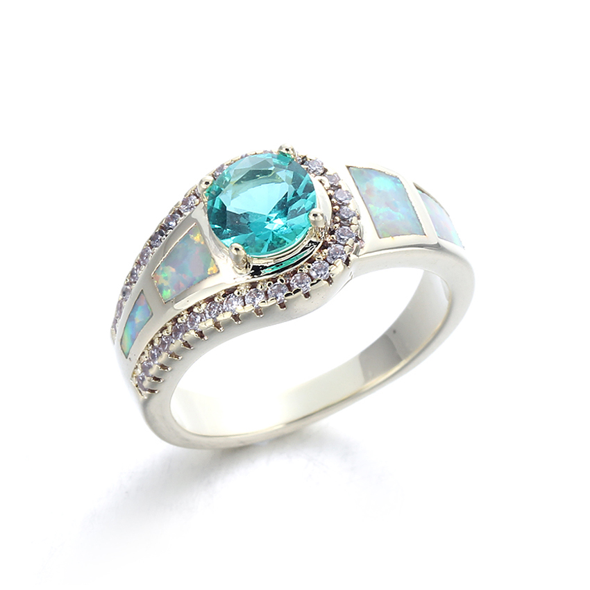 Kirin Jewelry -White Opal Ring Manufacture | Fashion Women White Opal Ring