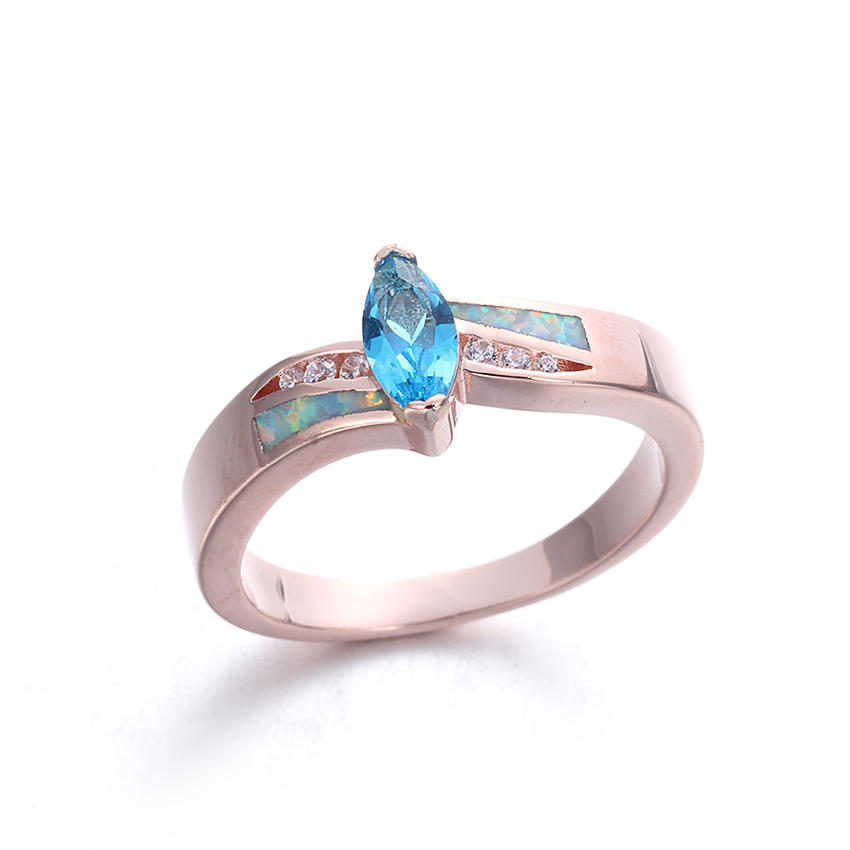 Opal Rings For Women Wedding Engagement Charm Finger Rings Jewelry 103560