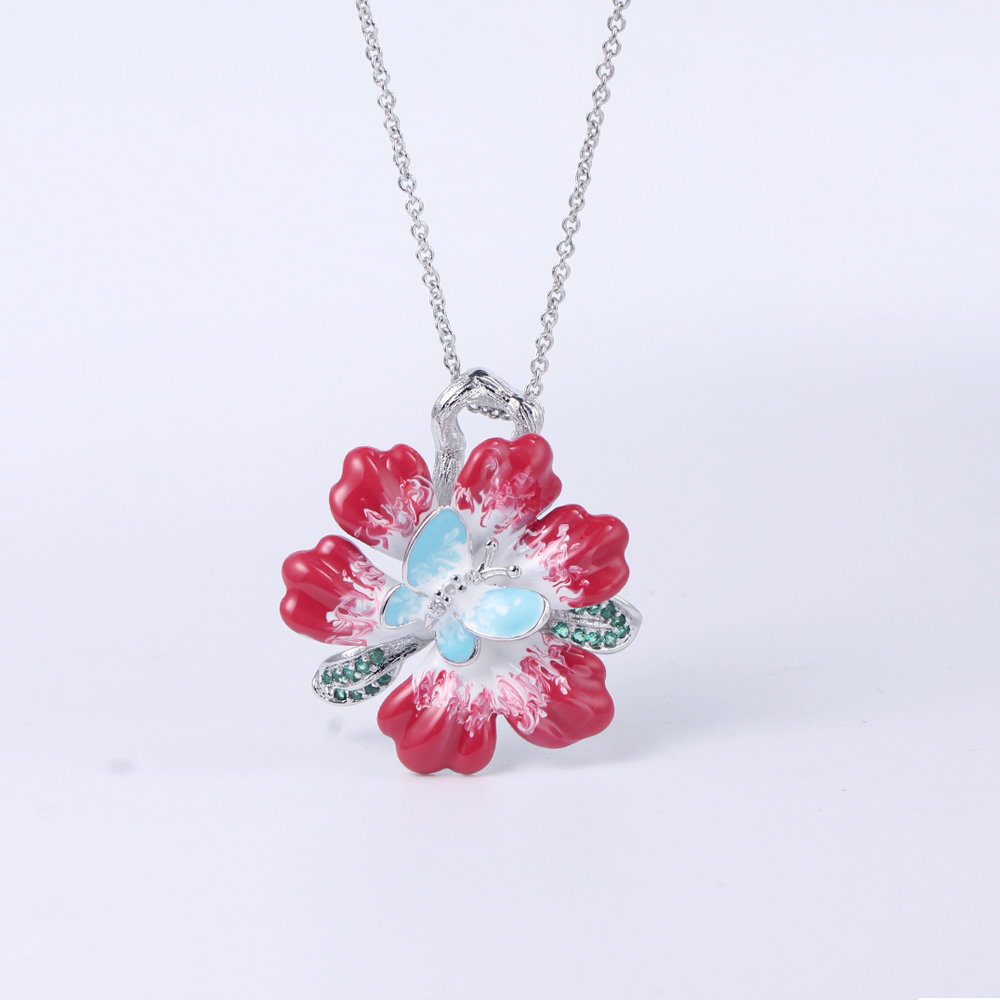 cat necklace ring set free design for girlfriend-Kirin-img-1